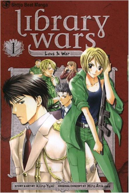 Library Wars: Love & War Graphic Novel 01
