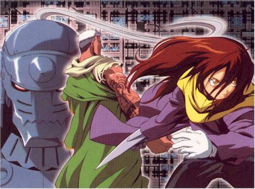 Fullmetal Alchemist Wallscroll #120