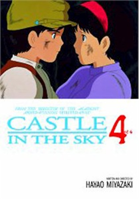 Castle in the Sky Graphic Novel Vol. 04