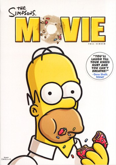 Simpsons The Movie DVD