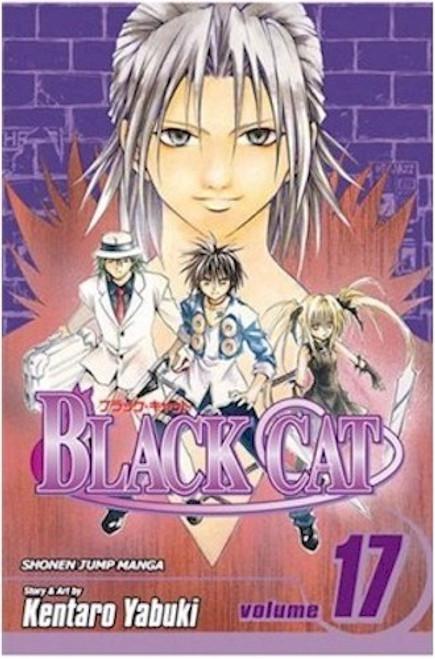 Black Cat Graphic Novel 17