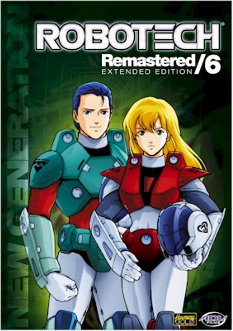 Robotech DVD Remastered: New Generation Collection 1 Set 6