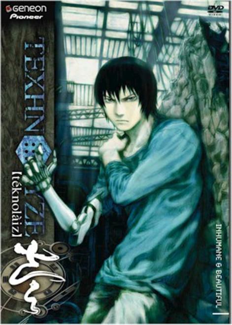 Texhnolyze DVD Vol. 01