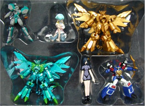 Sunrise Hero Collection Part 5 Figure Set