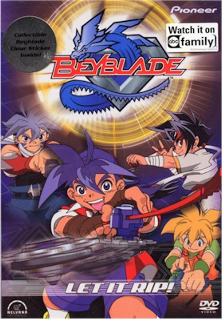 Beyblade DVD Vol. 01