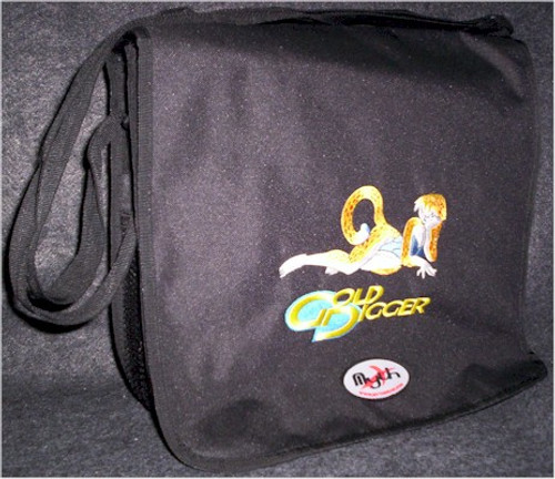 Gold Digger Logo Courier Bag