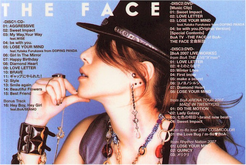 BoA - The Face (1CD+2DVD)