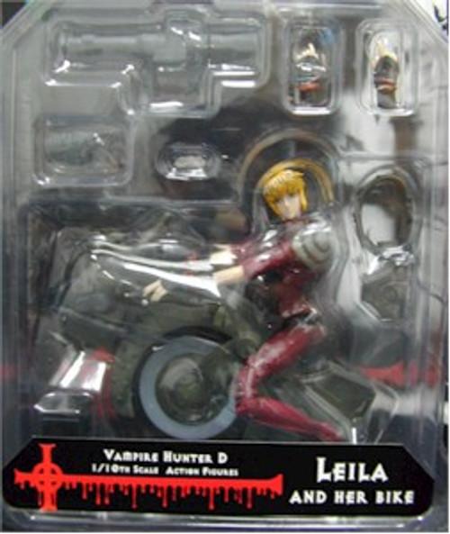 Vampire Hunter D Action Figure: Leila & Her Bike