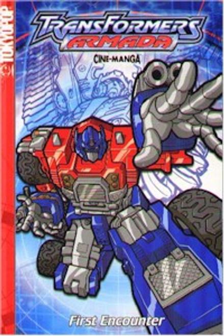 Transformers Armada Cine-manga 01 First Encounter