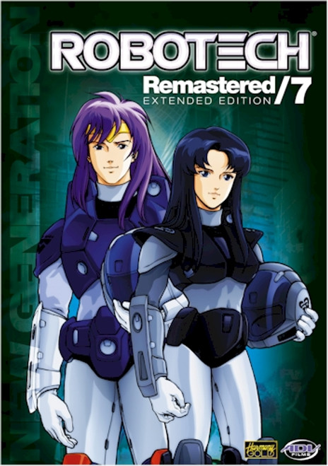 Robotech DVD Remastered: New Generation Collection 2