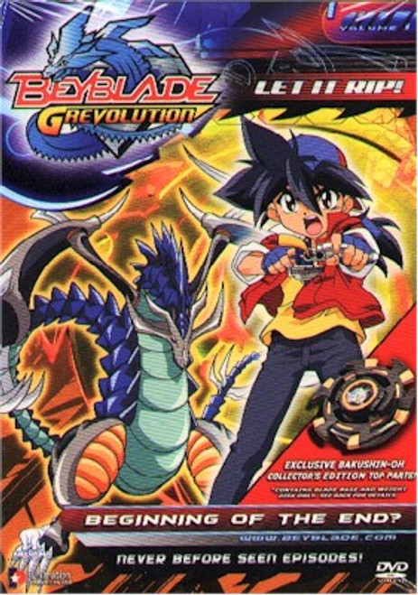 Beyblade DVD S.3 V.01 Beginning of the End