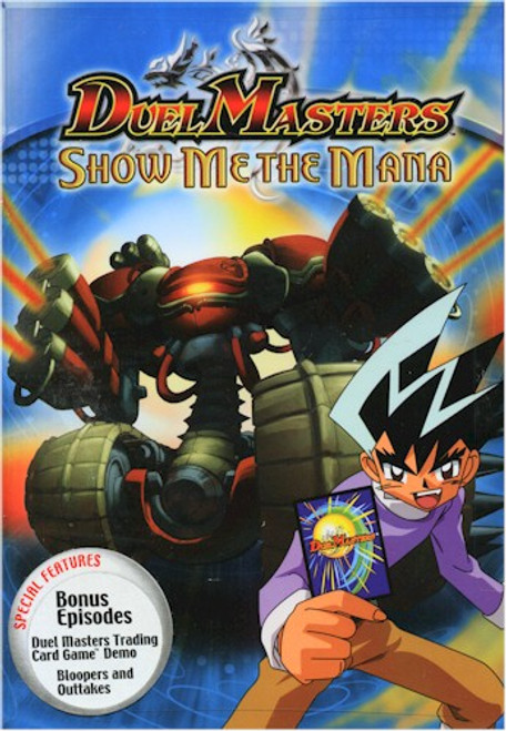 Duel Masters DVD Show Me the Mana