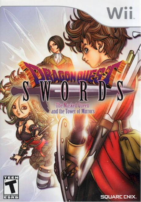 Dragon Quest Swords Masked Queen & Tower of Mirrors (Wii)