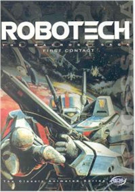 Robotech DVD Vol. 01: First Contact