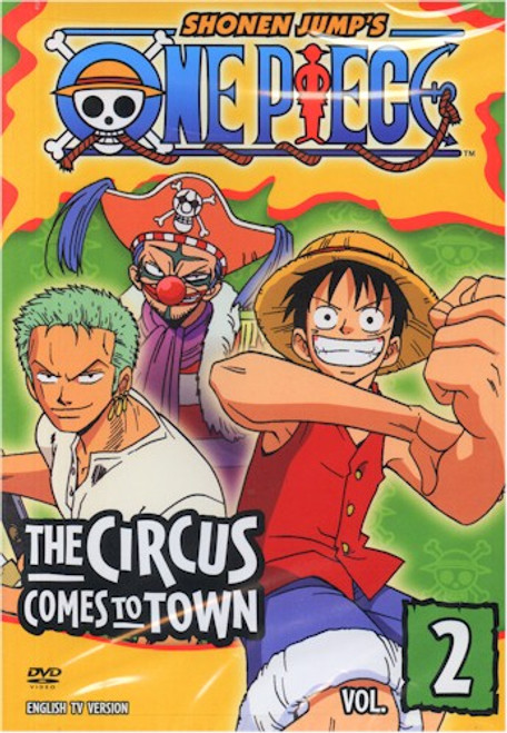 One Piece DVD 02 the Circus Comes to Town