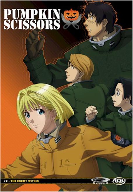 Pumpkin Scissors DVD 02