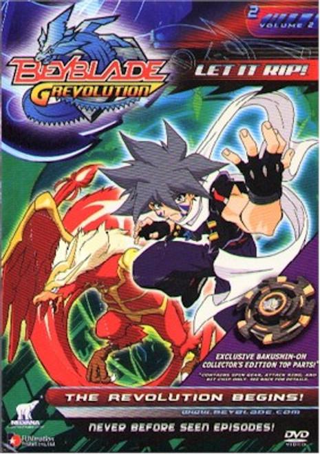 Beyblade DVD S.3 V.02 The Revolution Begins