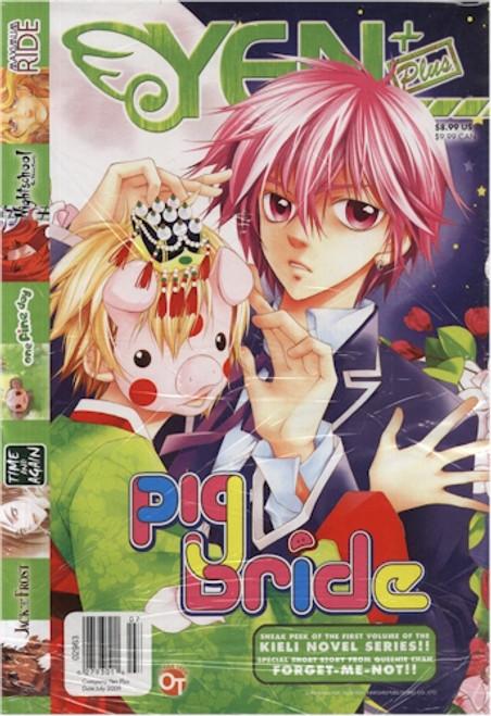 Yen Plus Magazine Graphic Novel 12 July 2009