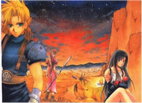 Final Fantasy VII Wallscroll #295