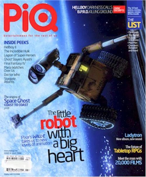 PiQ Magazine July 2008 Issue #04