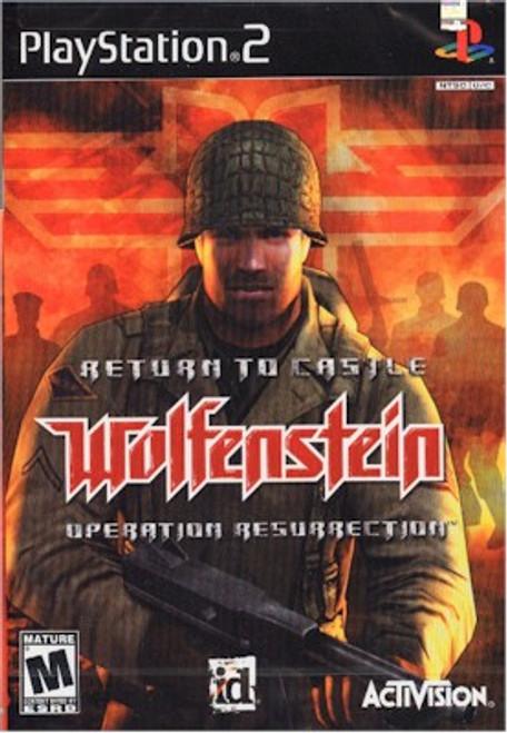 Return to Castle Wolfenstein Operation Resurrection (PS2)