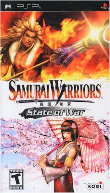 Samurai Warriors State of War (PSP)