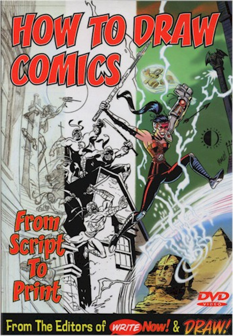 How To Draw Comics DVD From Script To Print