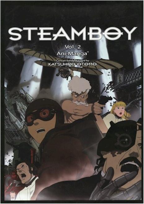 Steamboy Ani-Manga Vol. 02