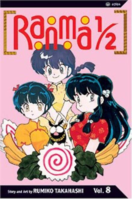 Ranma 1/2 2nd Edition Graphic Novel Vol. 08