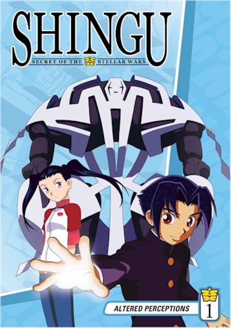 Shingu Secret of the Stellar Wars DVD 01