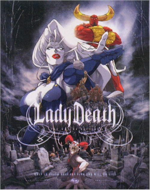 Lady Death Wallscroll #45000