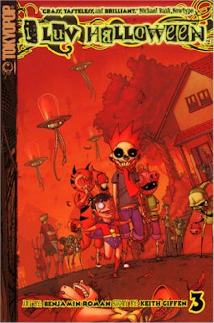 I Luv Halloween Graphic Novel 03