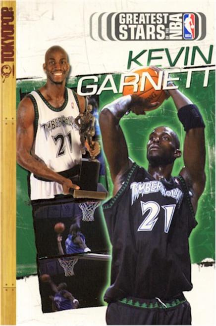 Greatest Stars of the NBA Cine-manga 04 Kevin Garnett (2004)