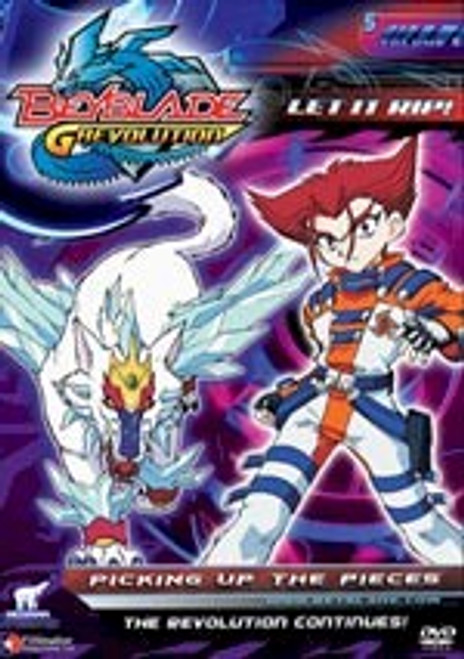 Beyblade DVD S.3 V.05 Picking Up the Pieces