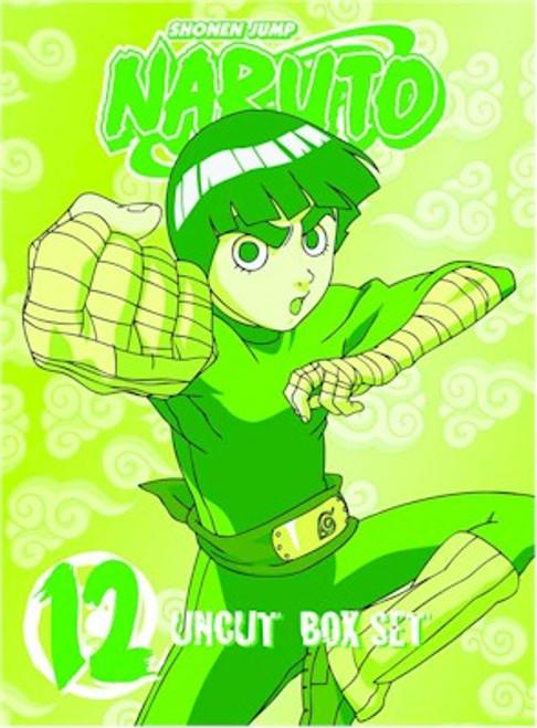 Naruto Uncut DVD Box Set 12