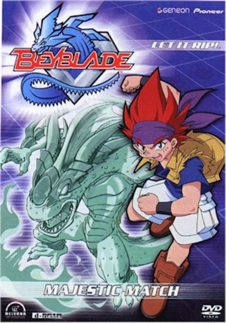 Beyblade DVD Vol. 08