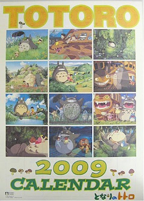 My Neighbor Totoro Import 2009 Calendar #CL-152
