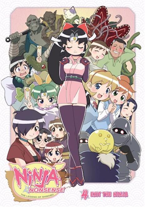 Ninja Nonsense DVD 04 Exit the Ninja