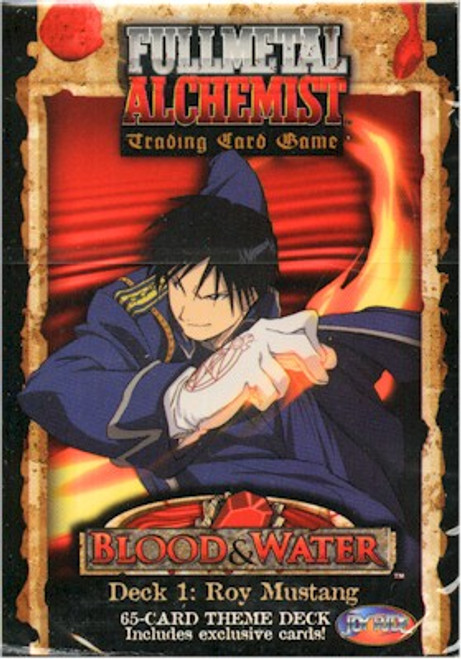 Fullmetal Alchemist TCG Blood & Water Starter Deck 1 Roy