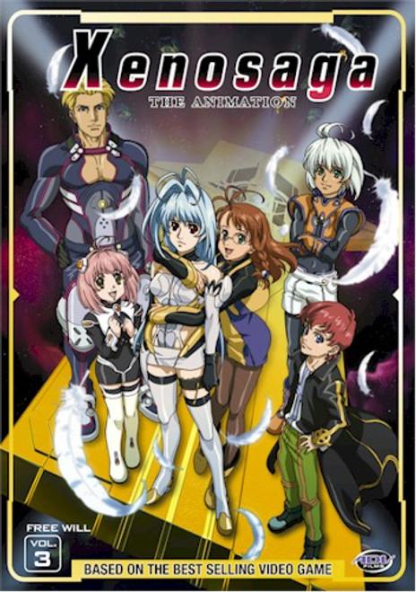 Xenosaga DVD 03 Free Will