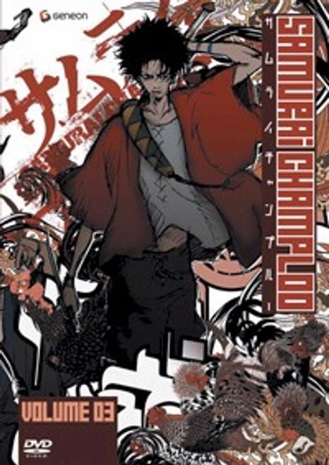 Samurai Champloo DVD 03