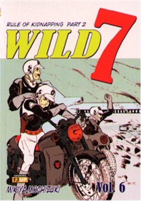 Wild 7 Graphic Novels Vol. 06
