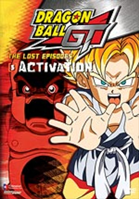 Dragon Ball GT Lost Episodes DVD 05 Activation