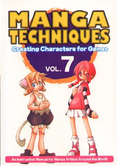 Manga Techniques 7 Creating Characters for Games for Beginne