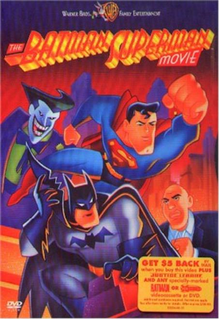 Batman Superman Movie DVD