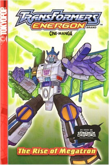 Transformers Energon Cine-manga 03 The Rise of Megatron