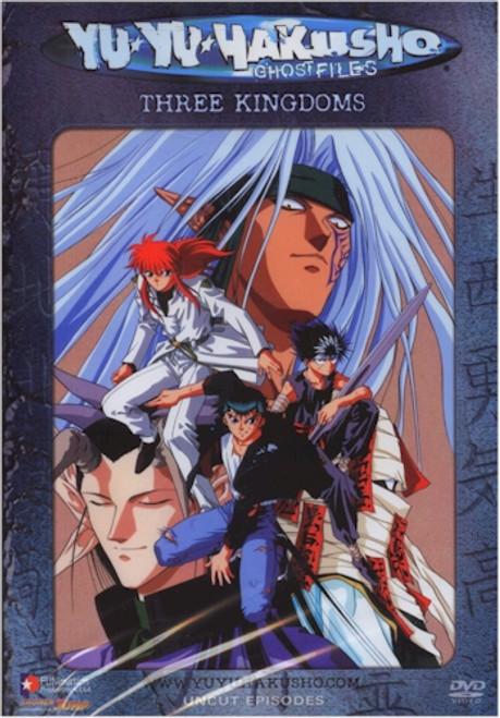 Yu Yu Hakusho Ghost Files DVD 28 Three Kingdoms