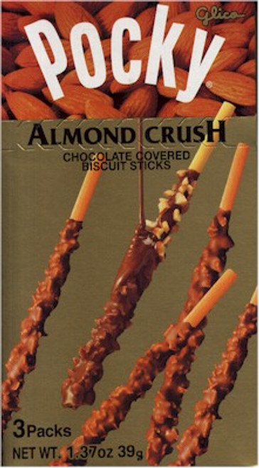 Pocky - Mild Chocolat Almond Crush