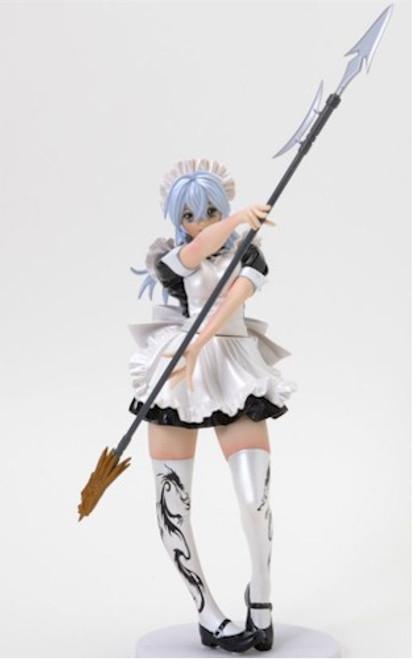 Ikki Tousen Sonsaku Maid Fighter Black Gloss 1/7 PVC Figure