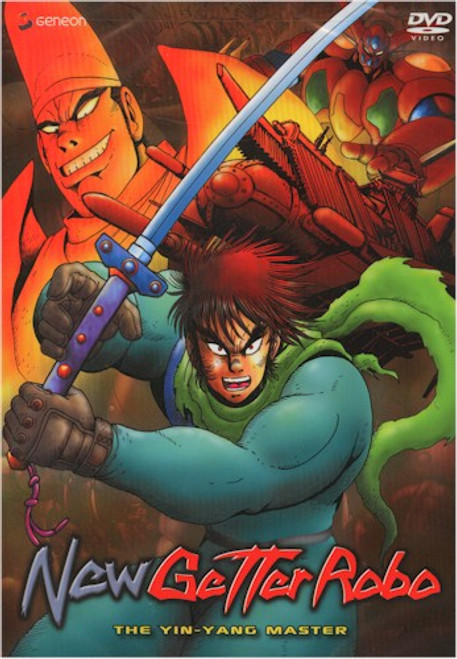 New Getter Robo DVD 02 The Yin-Yang Master